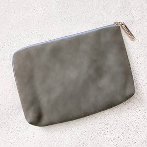 bareMinerals Gray & Baby Blue Small Cosmetic Bag